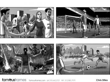 Chris Stiles's People - B&W Tone storyboard art