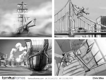 Chris Stiles's Shootingboards storyboard art