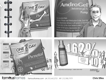 Chris Stiles's Products storyboard art