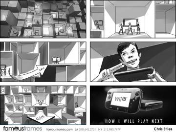 Chris Stiles's Conceptual Elements storyboard art