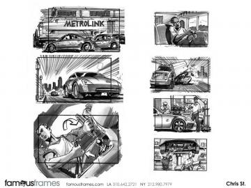 Chris Stiles's Shooting Vehicles storyboard art