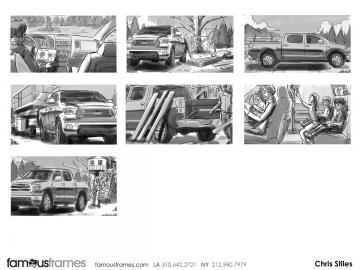 Chris Stiles's Vehicles storyboard art