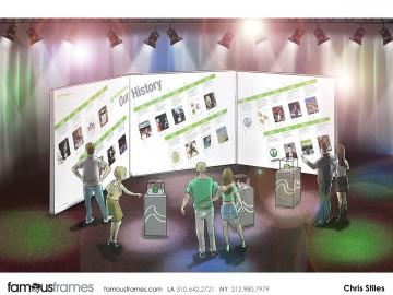 Chris Stiles's Events / Displays storyboard art
