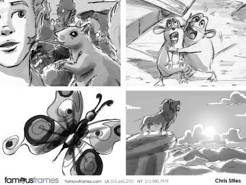 Chris Stiles's Wildlife / Animals storyboard art