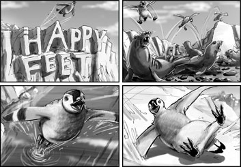 Chris Stiles's Wildlife / Animals storyboard art
