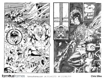 Chris Stiles's Comic Book storyboard art