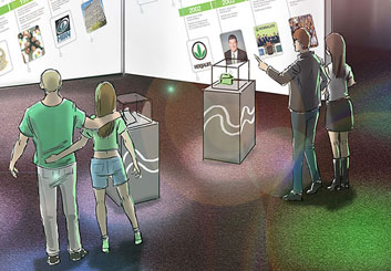 Chris Stiles's People - Color  storyboard art