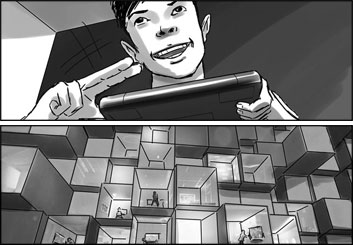 Chris Stiles's Conceptual Elements storyboard art