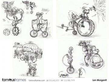 Len Morganti*'s Animation storyboard art