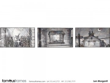 Len Morganti*'s Animation storyboard art