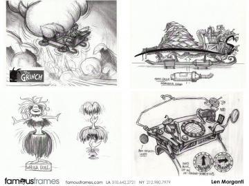 Len Morganti*'s Conceptual Elements storyboard art