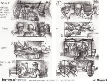 Len Morganti*u0027s Film/TV Storyboard Art