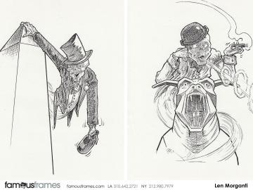 Len Morganti*'s Characters / Creatures storyboard art