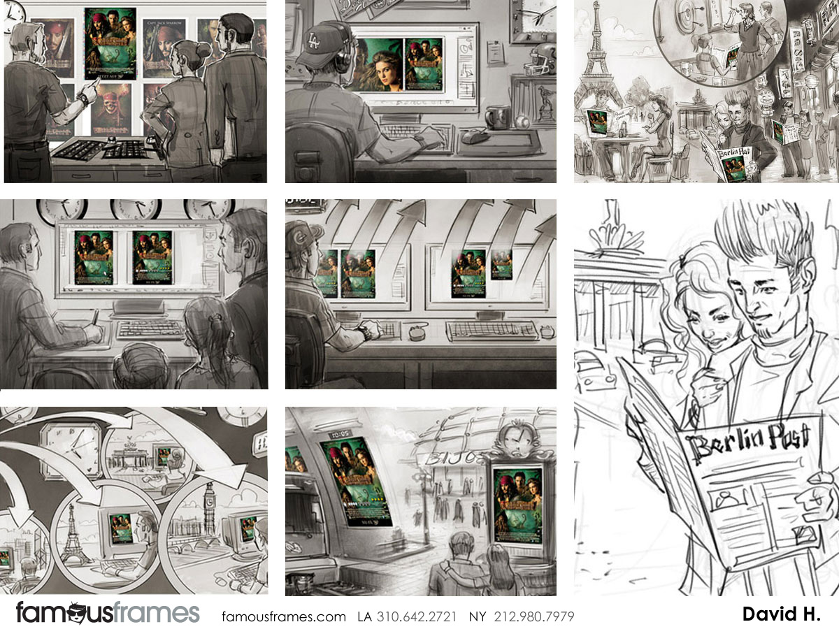 David Hudnut's People - B&W Tone storyboard art (Image #41_113_1384973234)