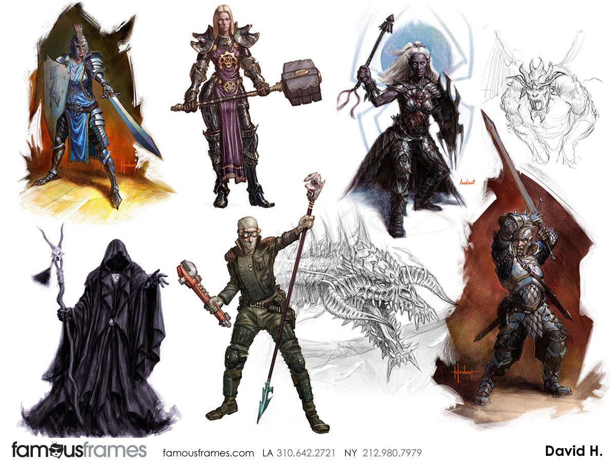 David Hudnut's Characters / Creatures storyboard art (Image #41_8_1390415062)