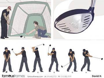 David Hudnut's Sports storyboard art