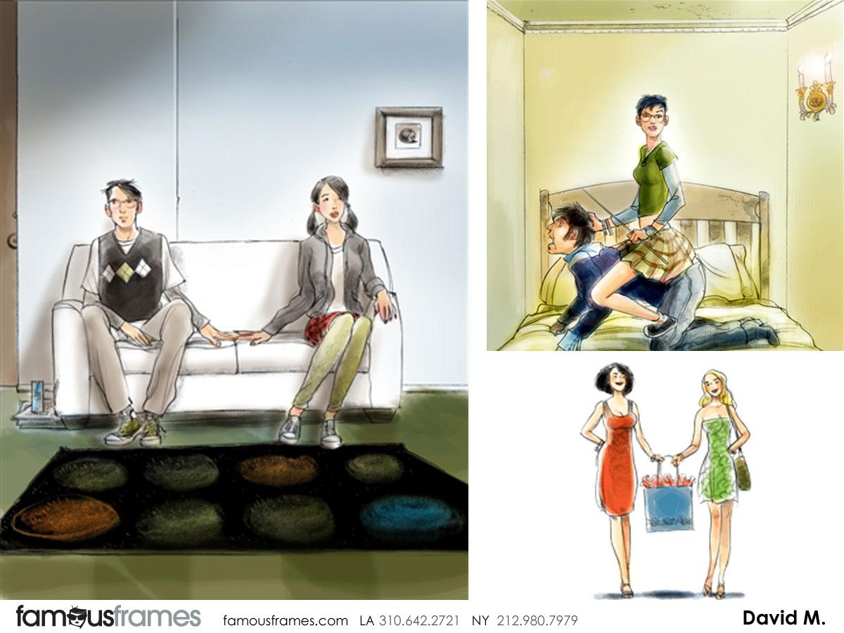 David Mellon's Beauty / Fashion storyboard art (Image #43_12_1326301657)