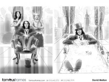 David Mellon's Key Art / Posters storyboard art