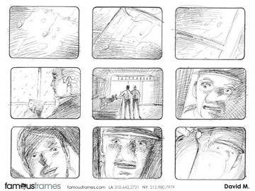 David Mellon's Shootingboards storyboard art