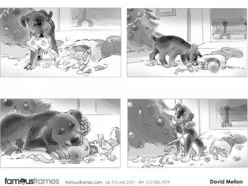 David Mellon's Wildlife / Animals storyboard art