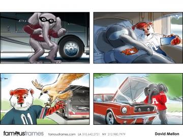 David Mellon's Characters / Creatures storyboard art