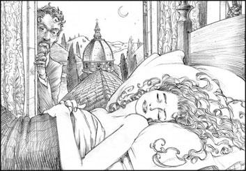 David Mellon's Illustration storyboard art