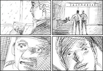 David Mellon's Shootingboards storyboard art