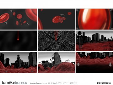 David Reuss's Concept Environments storyboard art