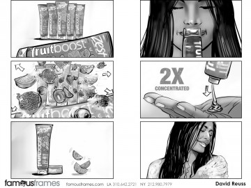David Reuss's Products storyboard art