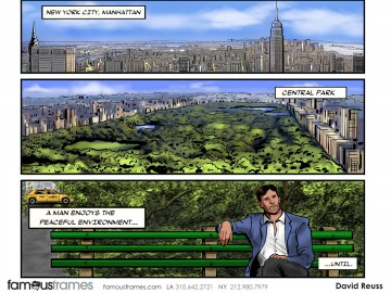 David Reuss's Environments storyboard art