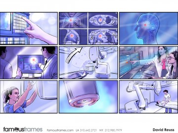 David Reuss's Pharma / Medical storyboard art