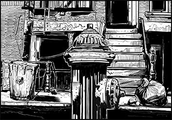 David Reuss's Illustration storyboard art