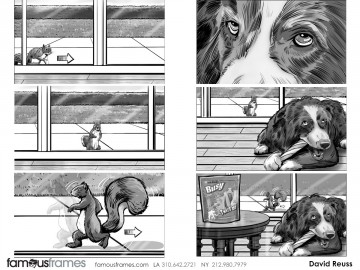 David Reuss's Wildlife / Animals storyboard art