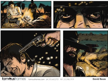 David Reuss's Comic Book storyboard art