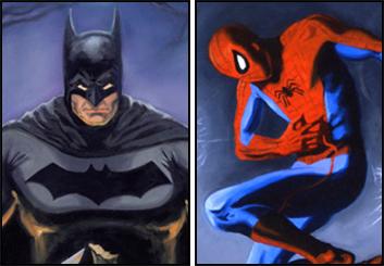David Reuss's Characters / Creatures storyboard art