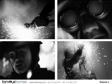 's Film/TV storyboard art