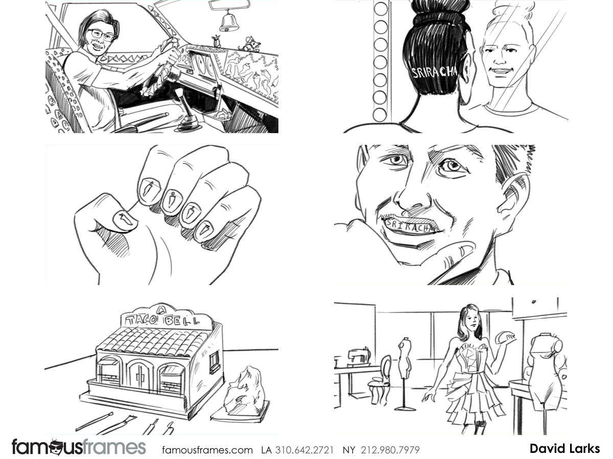 Taco bell david larkss storyboard art famous work contact famous frames jeuxipadfo Image collections