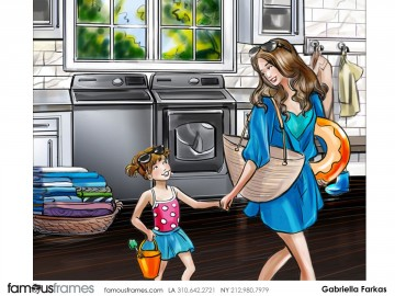 Gabriella Farkas's Kids storyboard art