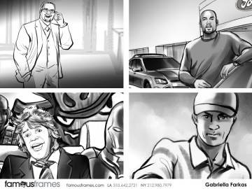 Gabriella Farkas's Likenesses storyboard art