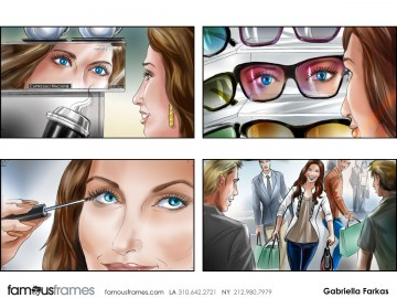 Gabriella Farkas's People - Color  storyboard art
