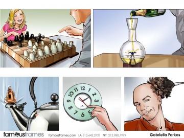 Gabriella Farkas's Products storyboard art