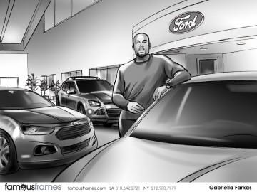 Gabriella Farkas's Vehicles storyboard art