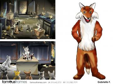 Gabriella Farkas's Wildlife / Animals storyboard art
