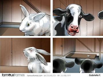 Gabriella Farkas's Wildlife / Animals storyboard art