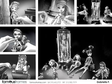 Gabriella Farkas's Characters / Creatures storyboard art