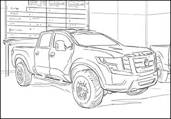 Brandon Hamilton's Vehicles storyboard art