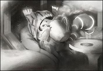 Brandon Hamilton's Characters / Creatures storyboard art