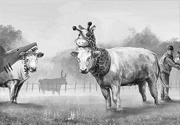 Brandon Hamilton's Wildlife / Animals storyboard art
