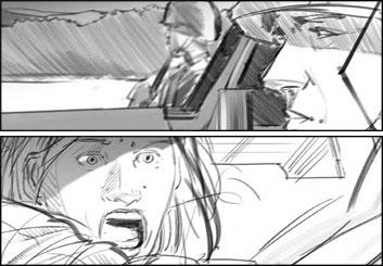 Shane Carrington 's Film/TV storyboard art