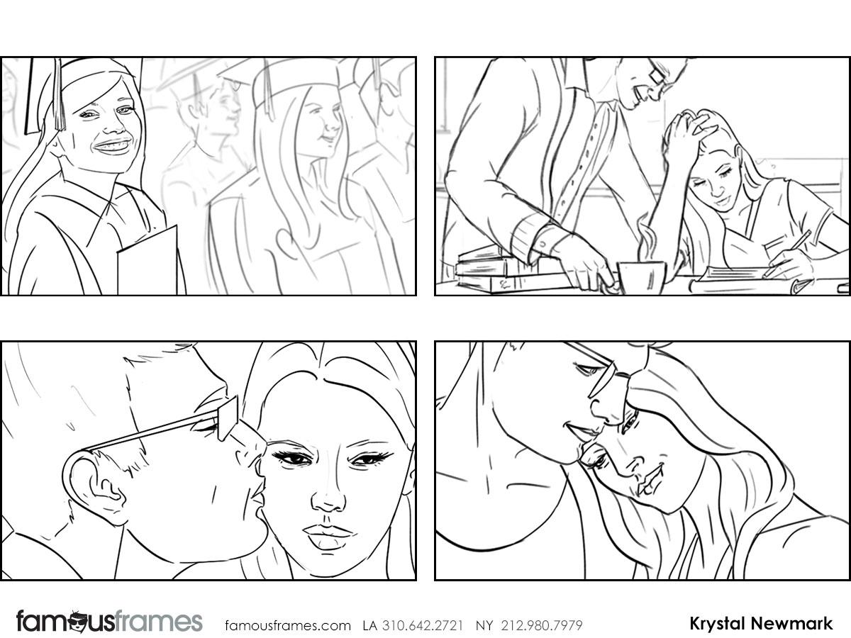 Krystal Newmark's People - B&W Line storyboard art (Image #5666_114_1441138831)